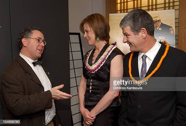 James Schamus Sigourney Weaver and director Jim Simpson