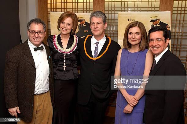 James Schamus Sigourney Weaver director Jim Simpson Anne Nelson and Jason Kliot