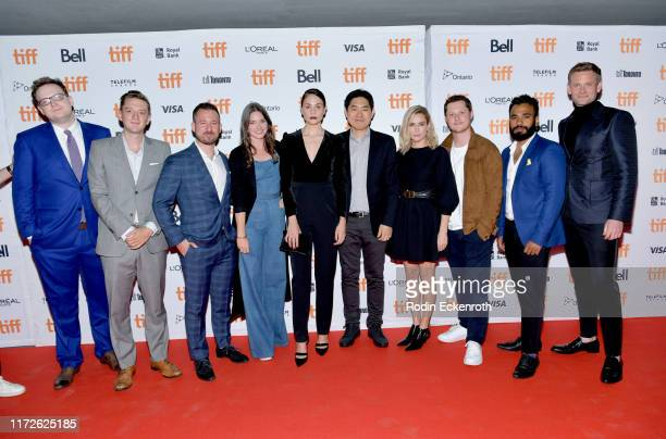 James Schultz Fraser Ash Kevin Krikst Catherine Lutes Tuppence Middleton Albert Shin MarieJosée Croze Noah Reid Andy McQueen and Eric Johnson attend...