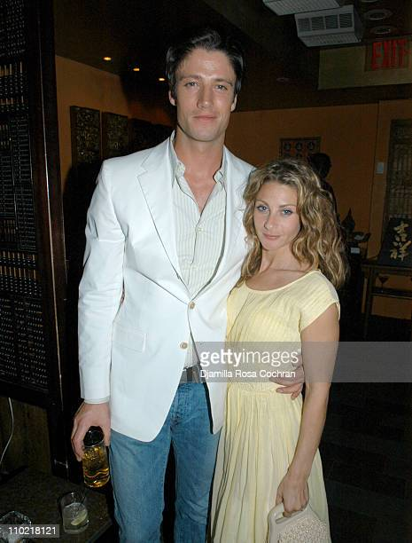 James Scott and Misha Anderson during Reefer Madness Hosted by Showtime Network After Party at Tao at Tao in New York City New York United States
