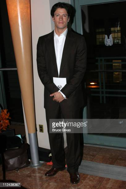 James Scott during New York Casting Society of America 21st Annual Artio's Awards at American Airlines Theater Penthouse in New York City New York...