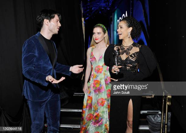 James Scully Kathryn Newton and Nathalie Emmanuel attend the 22nd CDGA at The Beverly Hilton Hotel on January 28 2020 in Beverly Hills California