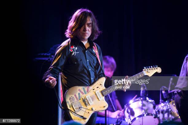 James Sedwards performs on stage at Sala Apolo on November 21 2017 in Barcelona Spain