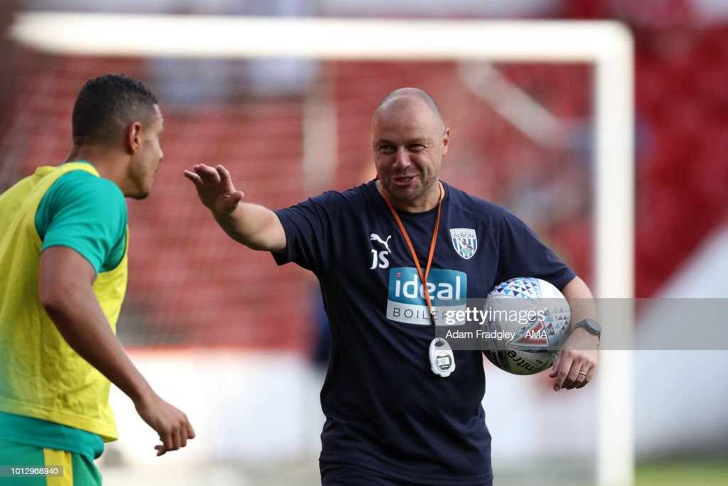 James Shan first team coach of West Bromwich Albion during the Sky Bet Championship match between Nottingham Forest v West Bromwich Albion at City Ground on August 7, 2018 in Nottingham, England.