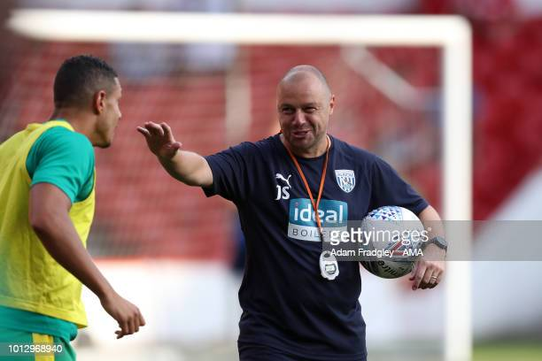 James Shan first team coach of West Bromwich Albion during the Sky Bet Championship match between Nottingham Forest v West Bromwich Albion at City...