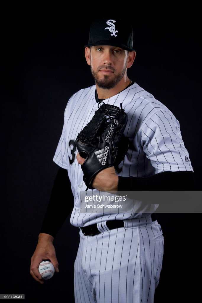 James Shields #33 of the Chicago White Sox poses during MLB Photo Day on February 21, 2018 in Glendale, Arizona.