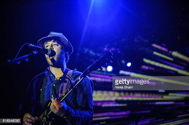 James Skelly of The Coral at O2 Forum Kentish Town on March 16 2016 in London England