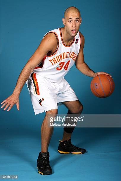 James Smith of the Albuquerque Thunderbirds poses for a portrait during DLeague media day on November 13 2007 at the Open Court in Lehi Utah NOTE TO...
