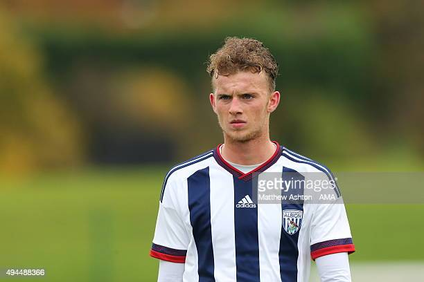 James Smith of West Bromwich Albion U18 during the U18 Premier League match between West Bromwich Albion and Everton on October 24 2015 in West...