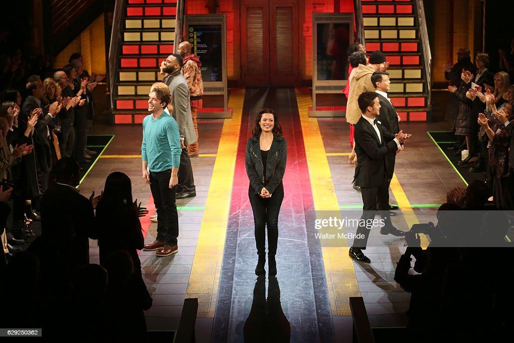 """""""In Transit"""" Broadway Opening Night : Nachrichtenfoto"""