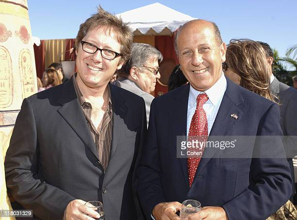 James Spader and Egyptian Minister of Tourism HE Mr Ahmed El Maghraby
