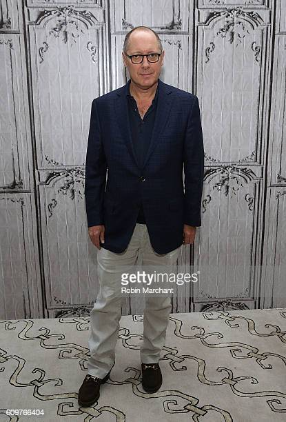 James Spader attends The Build Series Presents James Spader Discussing His Show 'The Blacklist' at AOL HQ on September 22 2016 in New York City