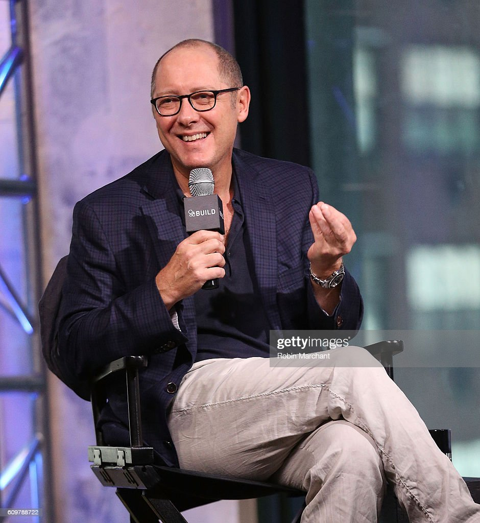 James Spader attends The Build Series Presents James Spader Discussing His Show 'The Blacklist' at AOL HQ on September 22, 2016 in New York City.