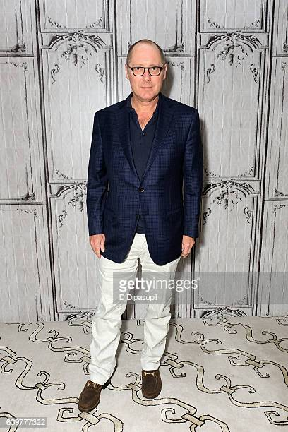 James Spader attends the Build Series to discuss his show 'The Blacklist' at AOL HQ on September 22 2016 in New York City