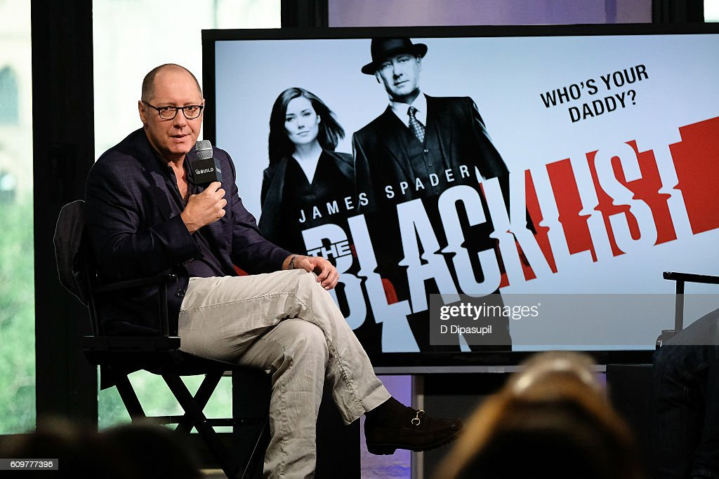 "The Build Series Presents James Spader Discussing His Show ""The Blacklist"" : Nachrichtenfoto"