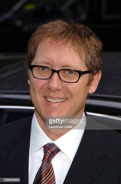 James Spader during ABC 2004/2005 Primetime Upfront Arrivals at Cipriani's in New York City New York United States