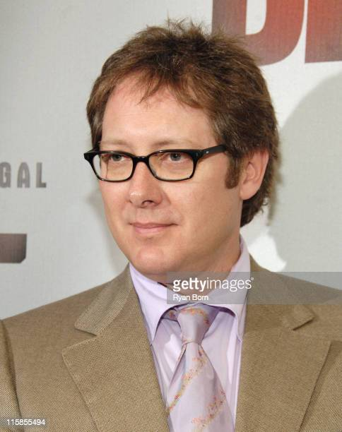 James Spader during Boston Legal Celebrates It's Season One DVD Debut at The 21 Club in New York City New York United States