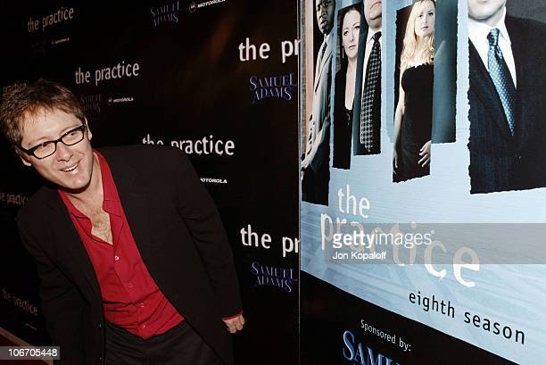 James Spader during David E Kelley and the cast of ABC's hit drama The Practice celebrate the launch of their eighth season at The Buffalo Club in...