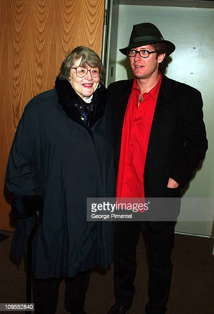 James Spader Mother during 2002 Sundance Film Festival 'The Secretary' Premiere at The Library in Park City Utah United States