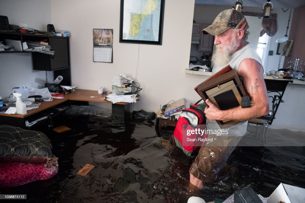 Flood Waters From Hurricane Florence Begin To Flood Parts Of South Carolina : News Photo