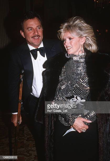 James Stacey and Connie Stevens during James Stacey and Connie Stevens sighting at the Beverly Hilton Hotel for the Tribute to Stan Kamen October 24...