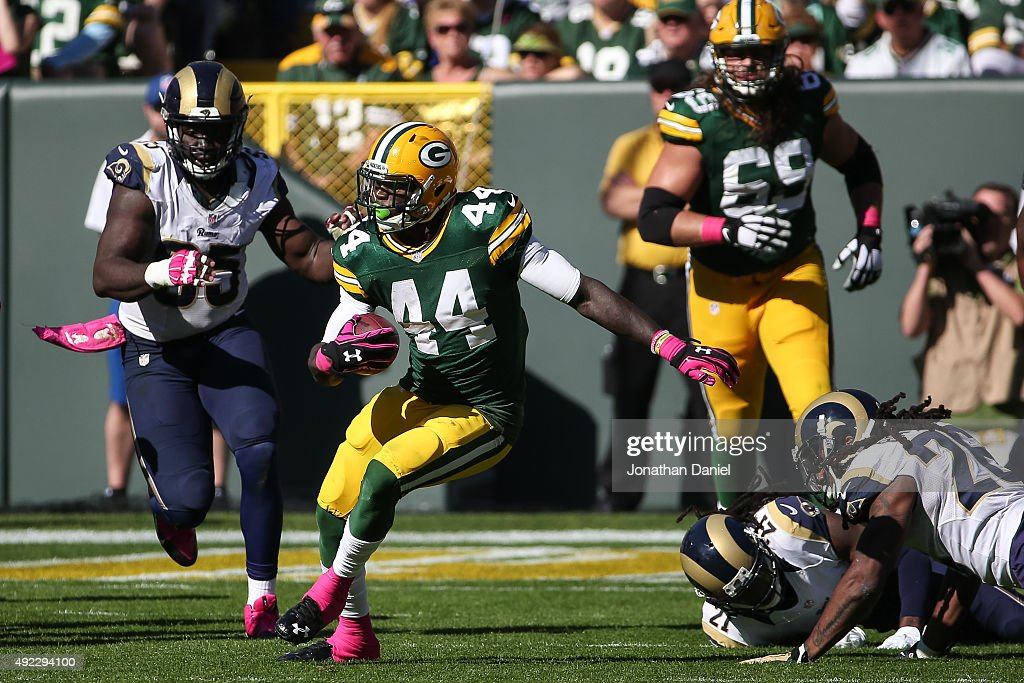 St Louis Rams v Green Bay Packers : News Photo