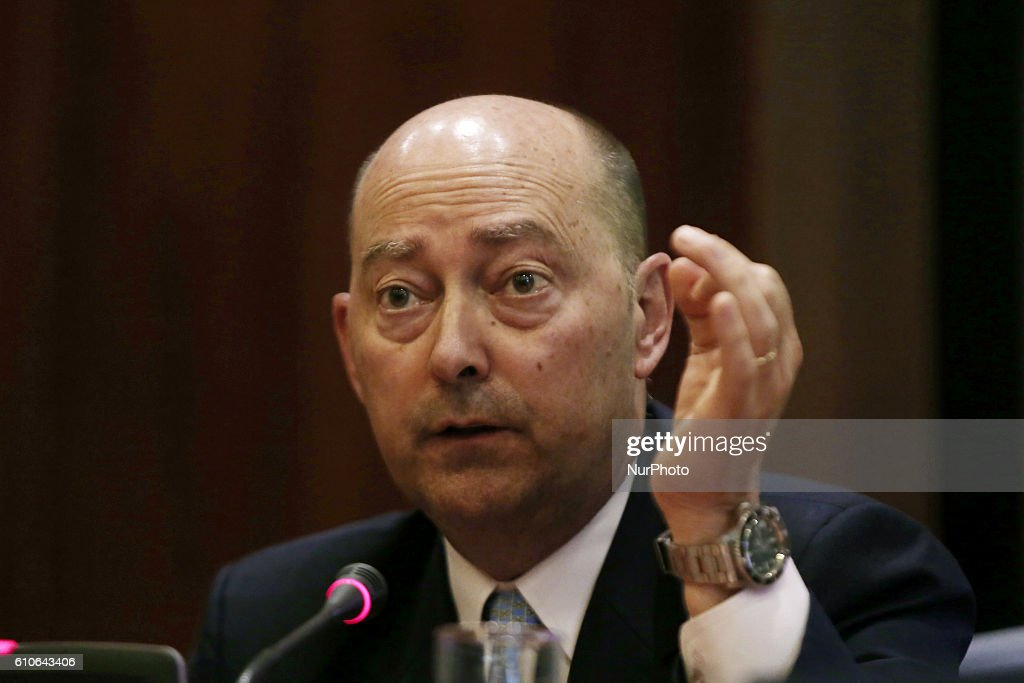US admiral James Stavridis in Athens