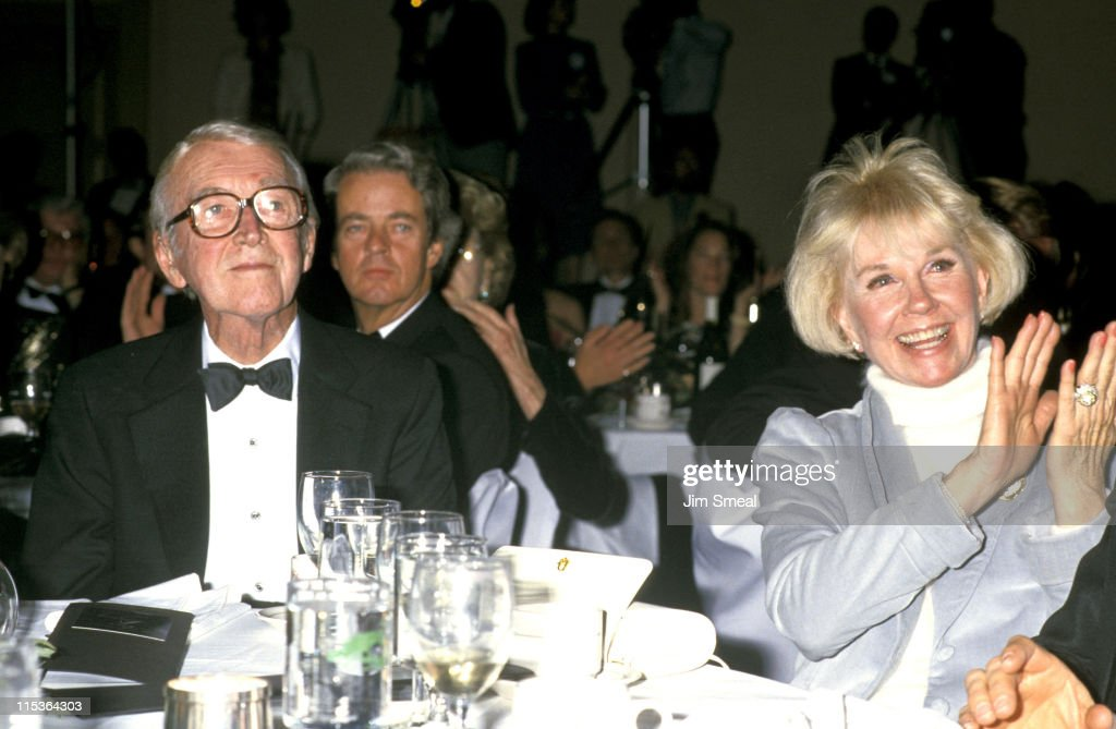 1988 Monterey Film Festival Honors James Stewart : News Photo