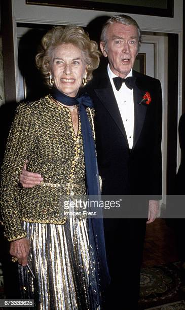 James Stewart and his wife Gloria circa 1985 in New York City