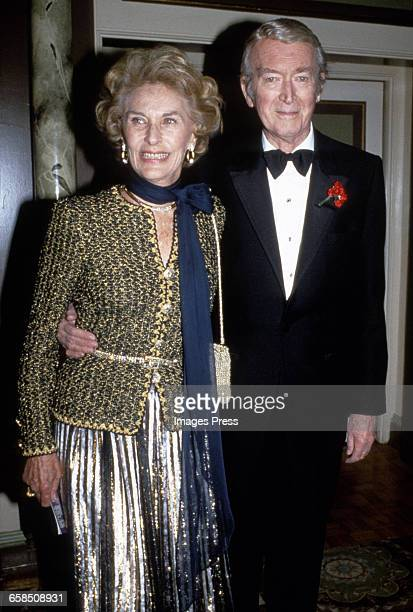James Stewart and wife Gloria circa 1985 in New York City