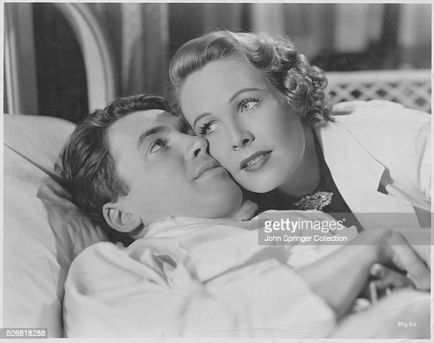 James Stewart as Terry Mitchell and Wendy Barrie as Jane Mitchell in the movie Speed