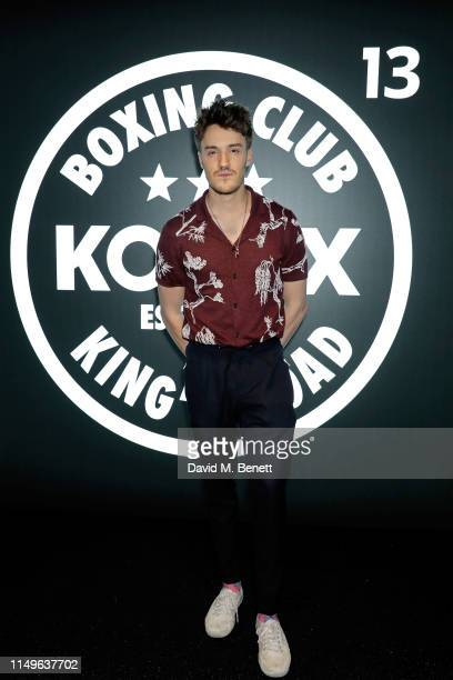 James Stewart attends KOBOX New Flagship studio launch party on King's Road on May 16 2019 in London England
