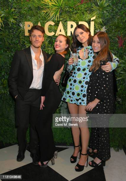 James Stewart Guest Lilah Parsons and Guest attend the Universal Music BRIT Awards AfterParty 2019 hosted by Soho House and BACARDI rum at The Ned on...