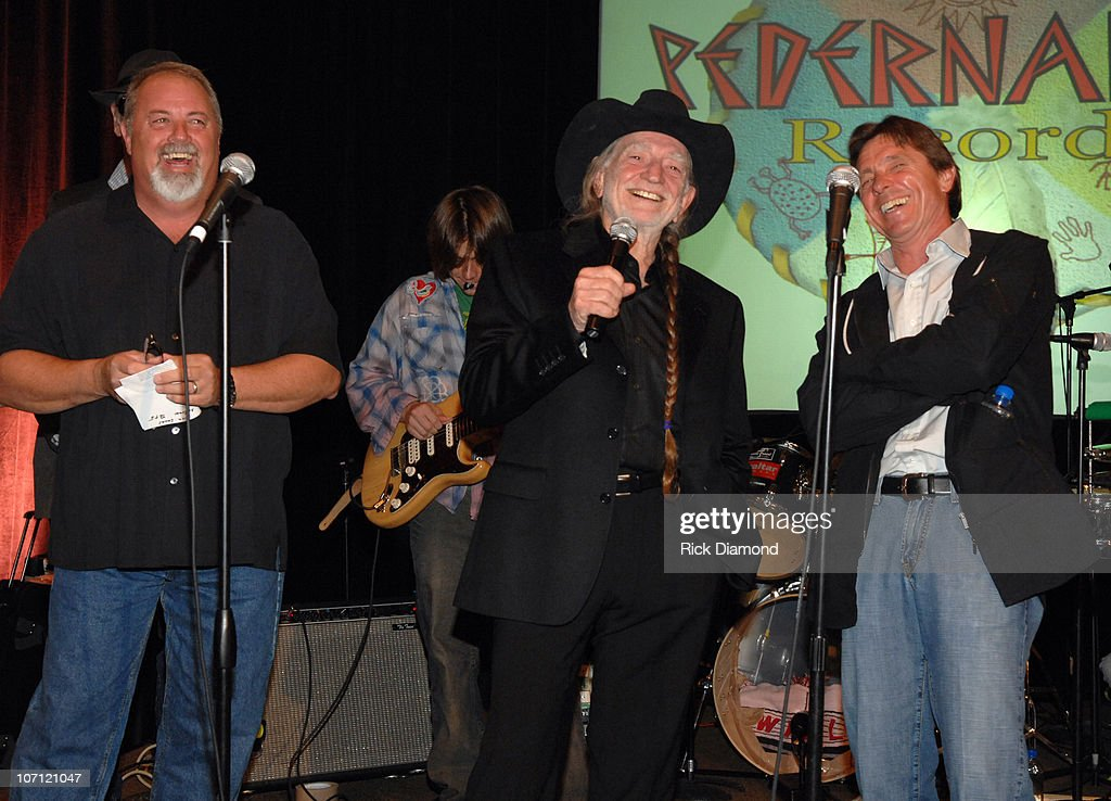 James Stroud, Willie Nelson, Ray Benson, and Freddy Fletcher