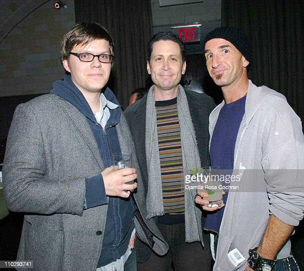 James Strouse Robert Stein and Stephen Kay at Gotham Magazine Celebrates Cover Model Mark Ruffalo with a Screening of his New Film Zodiac at Cellar...