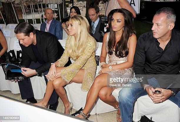 James Stunt Petra Ecclestone Tamara Ecclestone and Omar Khyami attend a cocktail reception during Amber Lounge Fashion Monaco 2012 at Le Meridien...