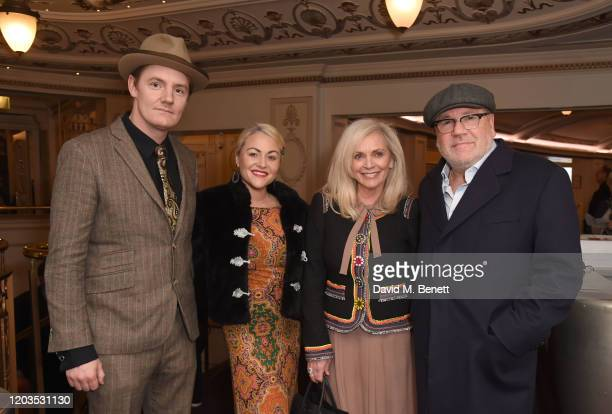 James Sucking Jaime Winstone Elaine Winstone and Ray Winstone attend the press night performance of Madam Butterfly part of the English National...