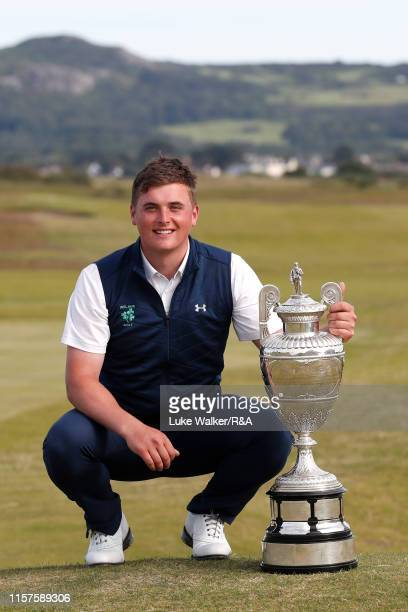 James Sugrue of Ireland winner of the RA Amateur Championship during day six of the RA Amateur Championship at Portmarnock Golf Club on June 22 2019...