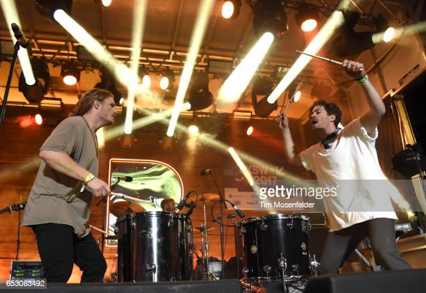 James Sunderland and Brett Hite of Frenship perform at the Pandora Night Party during the 2017 SXSW Conference And Festivals on March 13 2017 in...