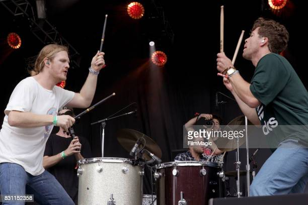 James Sunderland and Brett Hite of Frenship perform on the Panhandle Stage during the 2017 Outside Lands Music And Arts Festival at Golden Gate Park...