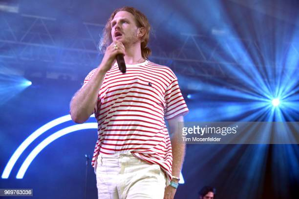 James Sunderland of Frenship performs during the 2018 Bonnaroo Music Arts Festival on June 7 2018 in Manchester Tennessee