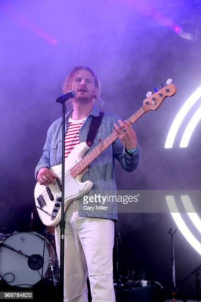 James Sunderland of Frenship performs in concert during the Bonnaroo Music And Arts Festival on June 7 2018 in Manchester Tennessee