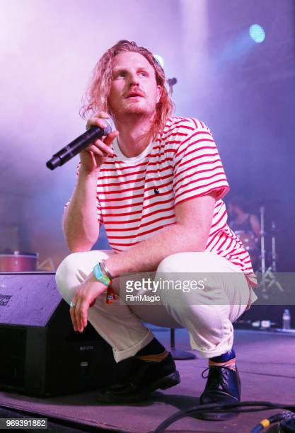 James Sunderland of Frenship performs onstage at This Tent during day 1 of the 2018 Bonnaroo Arts And Music Festival on June 7 2018 in Manchester...