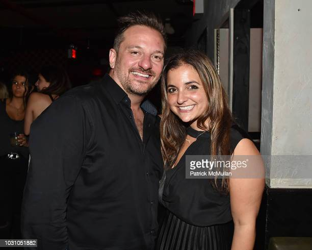 James Swindle and Elisa Feldman attend the Nicole Miller Spring 2019 After Party at Acme on September 6 2018 in New York City