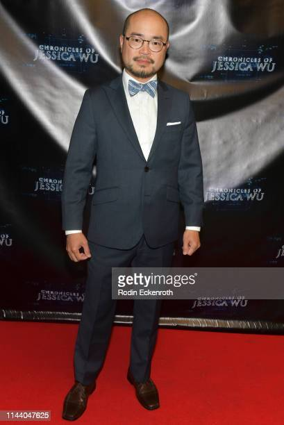James Taku Leung attends the Chronicles of Jessica Wu Season 2 premiere at SAGAFTRA Foundation Screening Room on April 20 2019 in Los Angeles...