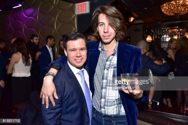James Tang and Martin Ambrose attend Yellowstone Forever Young Patrons Benefit hosted by Arielle Patrick Jackie Rooney and Alice Ryan at Lavo on...
