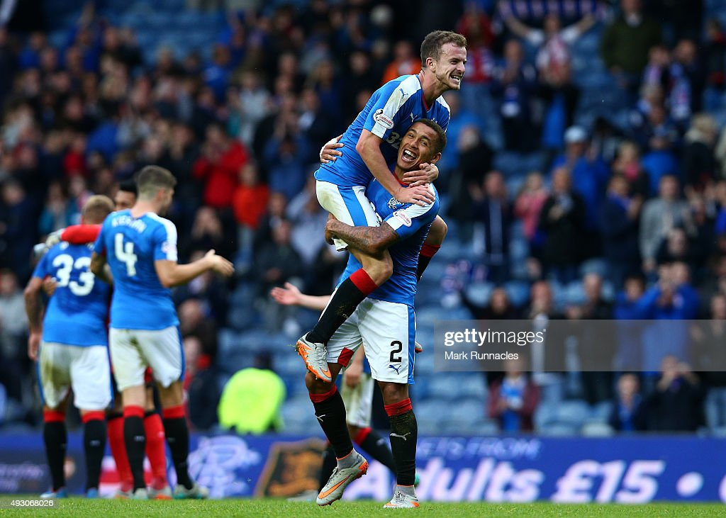 Rangers v Queen of the South - Scottish Championship : News Photo