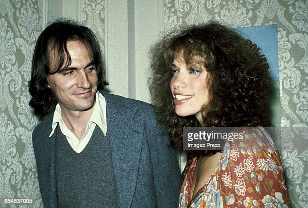 James Taylor and Carly Simon circa 1979 in New York City