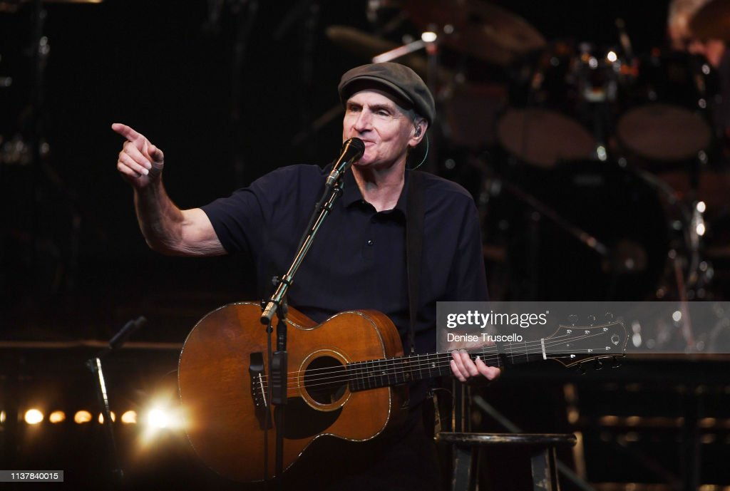 NV: James Taylor And His All-Star Band Opening Night Of Limited Engagement At The Colosseum At Caesars Palace