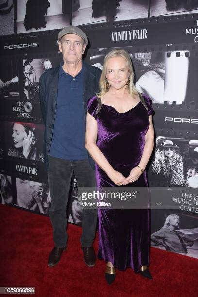 James Taylor and Kim Taylor attend Joni 75 A Birthday Celebration Live At The Dorothy Chandler Pavilion on November 7 2018 in Los Angeles California